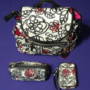 Authentic COACH - Backpack, Cosmetic Bag, Phone H